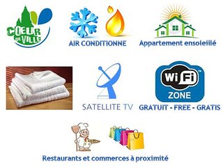 Maârif rue Atlas, Loft neuf,wifi,clim,balcon..., Casablanca