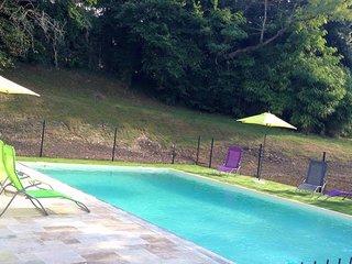 Maison de Campagne 10 personnes, piscine, jardin