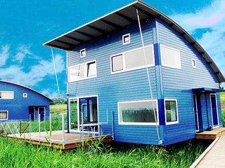 6 pers. Luxus Ferienhaus mit Seeblick am Lauwersmeer Friesland 'Riethaus 8'