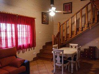 Casas de madera maciza, lo que las hacen muy cálidas y confortables, El Picazo