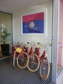 Free bikes for guest use
