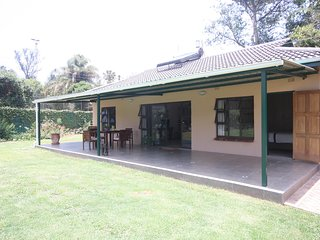 Two bedroom cottage. Northern suburbs in the golden triangle. Quiet secluded., Harare