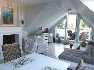 Schöne Ferienwohnung mit Dachterrasse