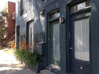 Comfy, super location, 2min to Rosemont sybway, ideal to visit the city!!!