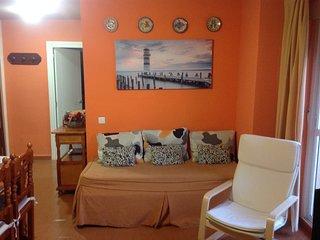 Apartamento 70 m2 en casco urbano, primera linea de playa, todo exterior (wifi), Cádiz