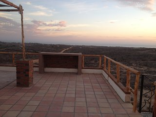 Panoramic Ocean, Mountain, and Town views tranquil off grid but close to town, Todos Santos