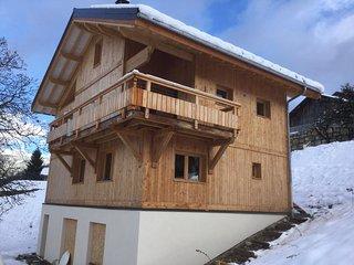 Appartement dans chalet neuf avec sauna, Les Avanchers-Valmorel
