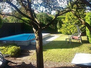 Logement avec piscine sans vis a vis