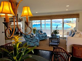 Great Room with the Best Views inNewport Beach! Views of the Light Houses and Cafe