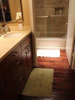 Master Bathroom- Travertine Tile Shower
