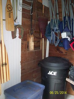 shed/supplies