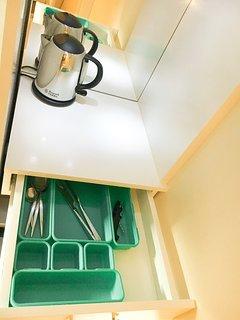 Kitchenette drawer