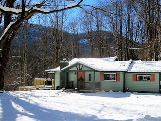 Verandah Vista-Just Remodeled/Hiking/Stream/Fire Pit/Spa/18 Miles to Asheville