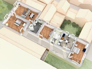 Sant'Elena Park - 3 Bedrooms and 2 Bathrooms, Venecia