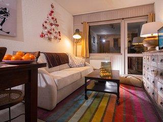 Appartement pour 4 personnes  au cœur de Méribel-Mottaret avec WI-FI