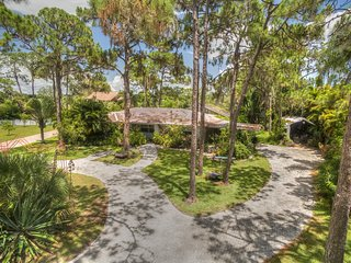 Expansive Plantation Old Florida, Park like, Pool, Cage, waterfront, treehouse