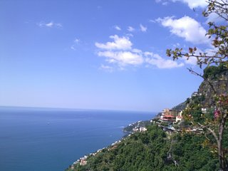 'Casa Sopramare' Amalfi panoramic apartment  with garden and terrace