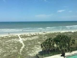 Fully furnished oceanfront condo with amazing views, Jacksonville Beach