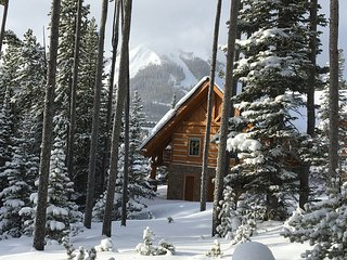 Ski in/ Ski-Out Luxury Log Home, Close to Everything, Mountain Village