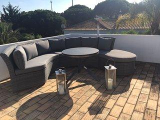 Roof top patio area