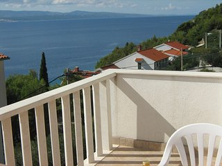 Apartments Tade - One bedroom apartment with terrace and sea view(A3)