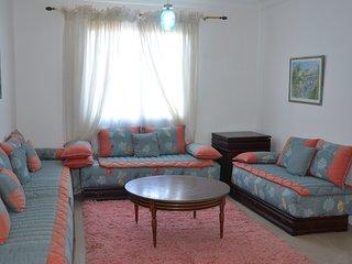 Apartamento amplio primera línea de playa, Tetouan