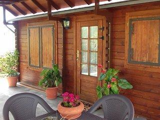 Cabana de madera en Finca Ecologica