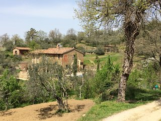 CASA LORENZO ROSMARINO~LAVANDA. Stunning, peaceful rural apt with pool. 4-6 pax, Panicale