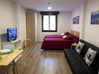 APARTAMENTOS JURRAMENDI- LOS ARCOS, 5 apartamentos y estudios.