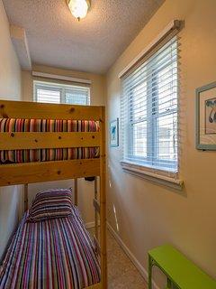 Lower bunk room