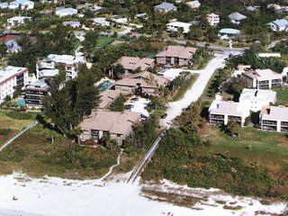 Aerial View of Coquina  Beach