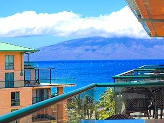 Maui Resort Rentals: Honua Kai Konea 710 – Top Floor 1BR w/ Ocean & Mountain, Lahaina