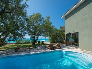Situated on the beach with stunning views and high levels of privacy.