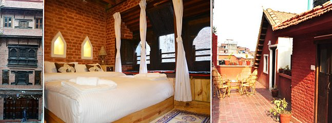 A beautifully renovated Newari House