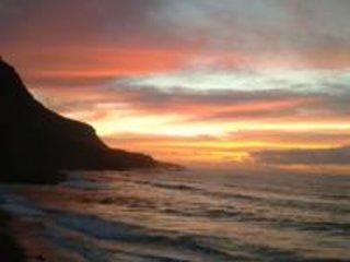 Zonsondergang van Socorro Beach