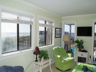 UPDATED CONDO WITH GREAT OCEAN VIEWS. EASY BEACH OR POOL ACCESS