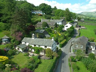 Townfoot Farmhouse, Troutbeck. Dog-friendly.