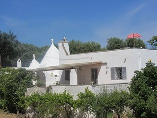Trullo Albicocca  .Lovely two bedroom Trullo in countryside location.