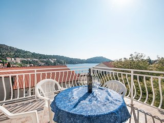 Villa Lagerrelax - One bedroom apartment  with terrace sea view, Brna