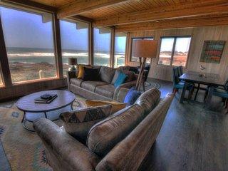 Amazing Panoramic Ocean Views, 2 Fireplaces! FREE NIGHT!, Yachats
