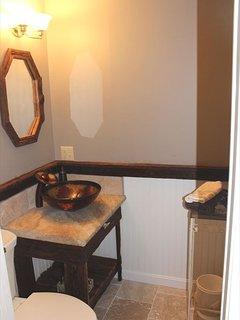 Half Bath off Entry Area