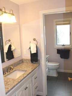 Hall bath on 2nd floor just outside 2nd suite