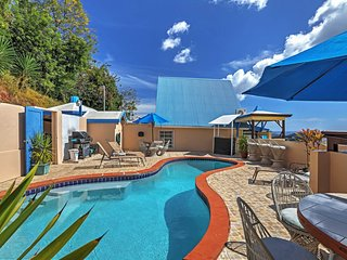 1BR St. Thomas Apartment w/Ocean Views & Pool