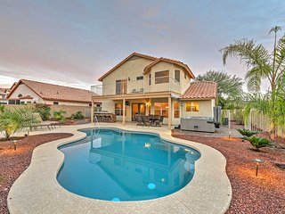 Luxurious Goodyear Home w/ Private Hot Tub & Pool!