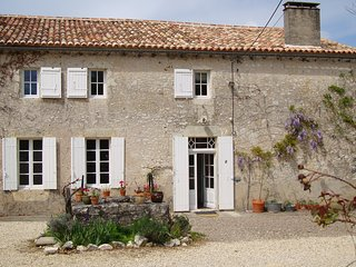 500 year old farmhouse in a small hamlet with a private pool & beautiful views