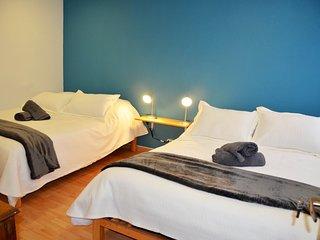 Habitación dos camas dobles