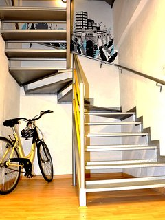 Staircase.