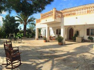 Can Cama Rotja: Gran Casa de campo en el centro de Mallorca