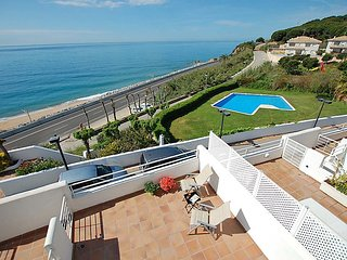 4 bedroom Villa in Sant Pol de Mar, Barcelona Costa Norte, Spain : ref 2242384