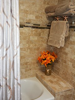 Luxury newly remodeled bathroom 1